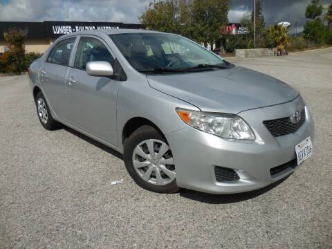 2010 Toyota Corolla for sale at ARAX AUTO SALES in Tujunga CA