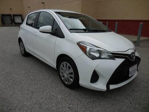2017 Toyota Yaris for sale at ARAX AUTO SALES in Tujunga CA