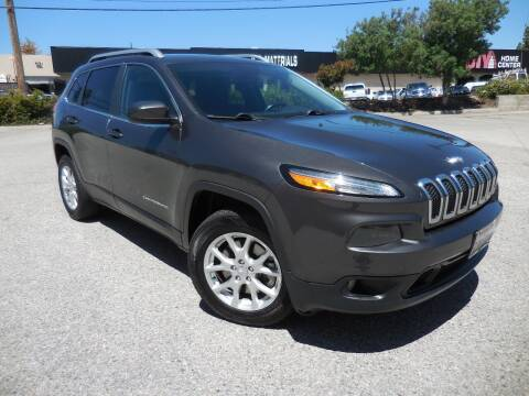 2015 Jeep Cherokee for sale at ARAX AUTO SALES in Tujunga CA