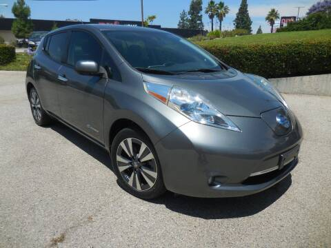2016 Nissan LEAF for sale at ARAX AUTO SALES in Tujunga CA