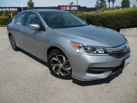 2017 Honda Accord for sale at ARAX AUTO SALES in Tujunga CA