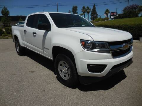 2016 Chevrolet Colorado for sale at ARAX AUTO SALES in Tujunga CA