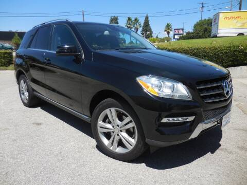 2013 Mercedes-Benz M-Class for sale at ARAX AUTO SALES in Tujunga CA