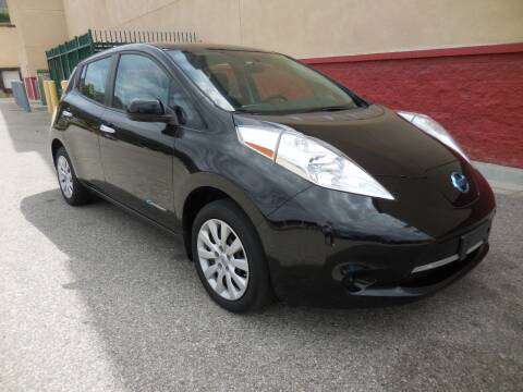 2017 Nissan LEAF for sale at ARAX AUTO SALES in Tujunga CA