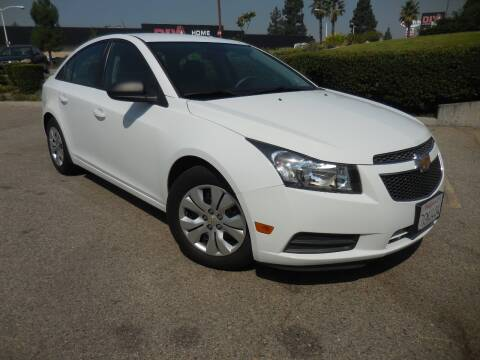 2014 Chevrolet Cruze for sale at ARAX AUTO SALES in Tujunga CA