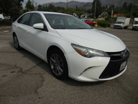 2015 Toyota Camry for sale at ARAX AUTO SALES in Tujunga CA