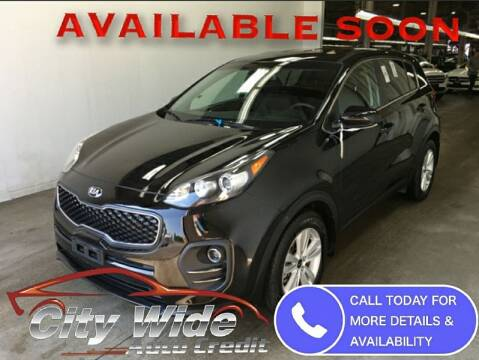 2019 Kia Sportage for sale at CItywide Auto Credit in Oregon OH