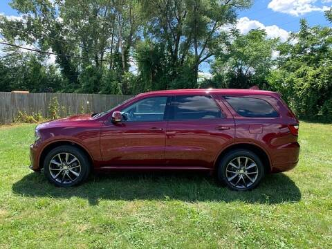2017 Dodge Durango for sale at CItywide Auto Credit in Oregon OH