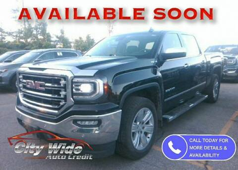 2017 GMC Sierra 1500 for sale at CItywide Auto Credit in Oregon OH