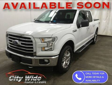 2017 Ford F-150 for sale at CItywide Auto Credit in Oregon OH
