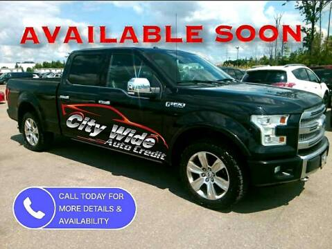 2015 Ford F-150 for sale at CItywide Auto Credit in Oregon OH