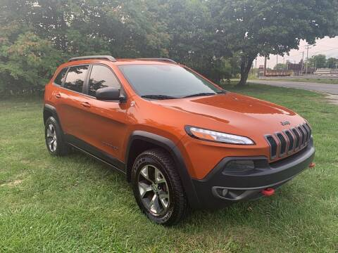 2015 Jeep Cherokee for sale at CItywide Auto Credit in Oregon OH