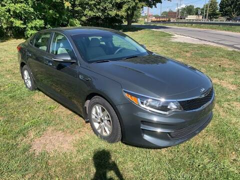 2016 Kia Optima for sale at CItywide Auto Credit in Oregon OH