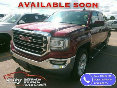 2016 GMC Sierra 1500 for sale at CItywide Auto Credit in Oregon OH