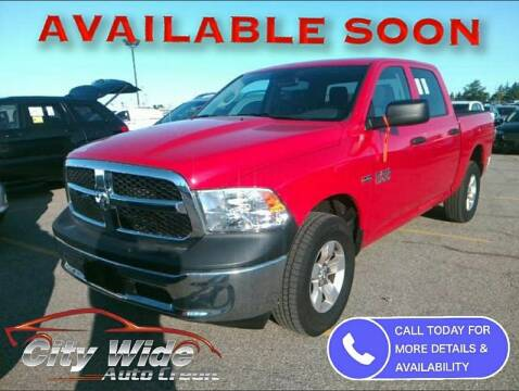 2018 RAM Ram Pickup 1500 for sale at CItywide Auto Credit in Oregon OH