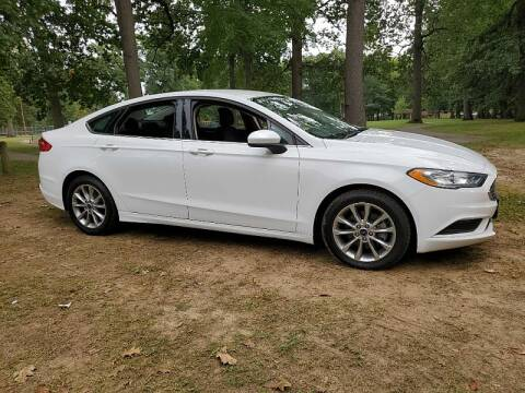 2017 Ford Fusion for sale at CItywide Auto Credit in Oregon OH