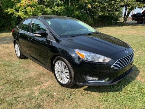 2018 Ford Focus for sale at CItywide Auto Credit in Oregon OH