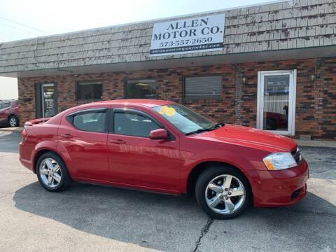 2011 Dodge Avenger for sale at Allen Motor Company in Eldon MO