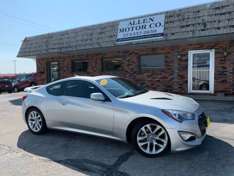 2013 Hyundai Genesis Coupe for sale at Allen Motor Company in Eldon MO