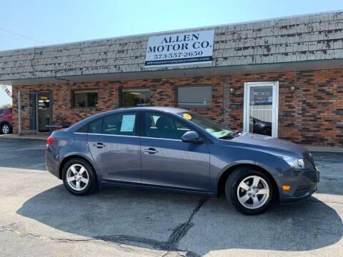 2014 Chevrolet Cruze for sale at Allen Motor Company in Eldon MO
