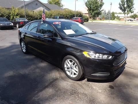 2015 Ford Fusion for sale in Janesville, WI