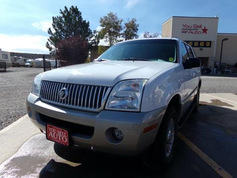 2002 Mercury Mountaineer for sale in Montrose, CO