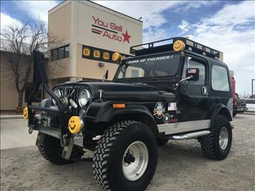 1981 Jeep CJ-7 for sale in Montrose, CO