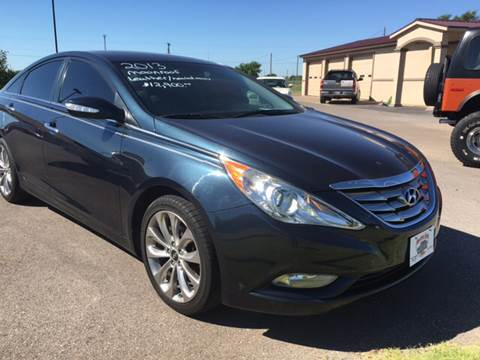 2013 Hyundai Sonata for sale at Buy Here Pay Here Lawton.com in Lawton OK