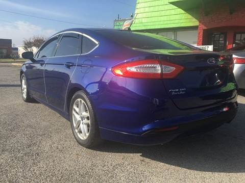 2013 Ford Fusion for sale at Buy Here Pay Here Lawton.com in Lawton OK