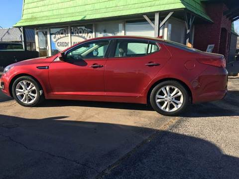 2013 Kia Optima for sale at Buy Here Pay Here Lawton.com in Lawton OK