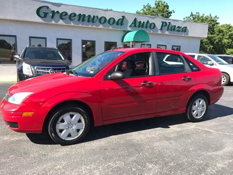 2007 Ford Focus for sale at Greenwood Auto Plaza in Greenwood MO