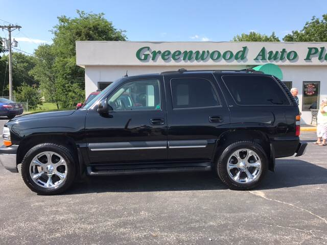 2004 Chevrolet Tahoe for sale at Greenwood Auto Plaza in Greenwood MO
