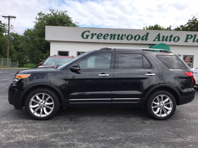 2012 Ford Explorer for sale at Greenwood Auto Plaza in Greenwood MO