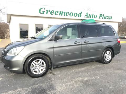 2007 Honda Odyssey for sale at Greenwood Auto Plaza in Greenwood MO