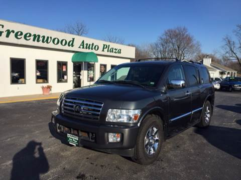 2004 Infiniti QX56 for sale at Greenwood Auto Plaza in Greenwood MO