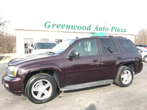 2008 Chevrolet TrailBlazer for sale at Greenwood Auto Plaza in Greenwood MO