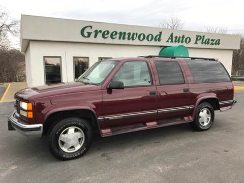 1998 GMC Suburban for sale at Greenwood Auto Plaza in Greenwood MO