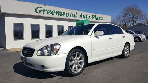 2002 Infiniti Q45 for sale at Greenwood Auto Plaza in Greenwood MO