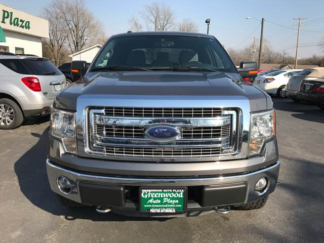2013 Ford F-150 4x4 XLT 4dr SuperCrew Styleside 5.5 ft. SB - Greenwood MO