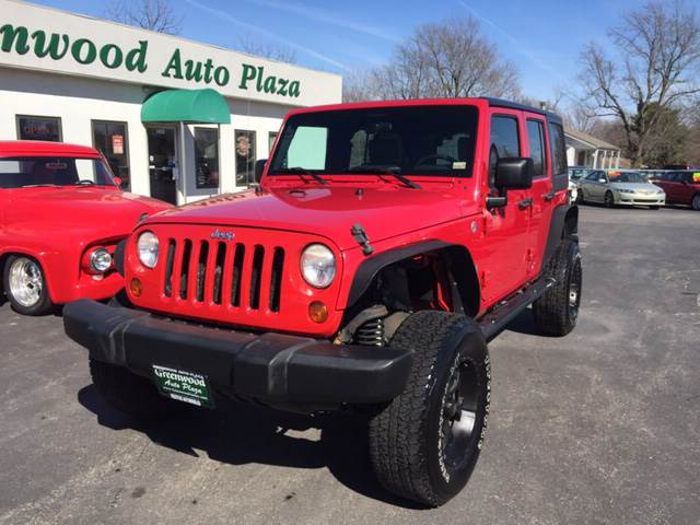 2007 Jeep Wrangler Unlimited 4x4 X 4dr SUV - Greenwood MO