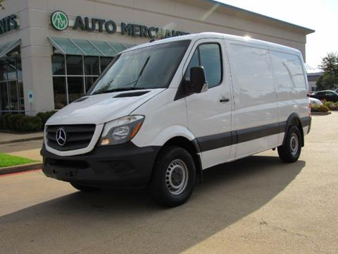 Sprinter Van For Sale >> 2014 Mercedes Benz Sprinter Cargo For Sale In Plano Tx