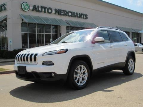 2016 Jeep Cherokee for sale in Plano, TX