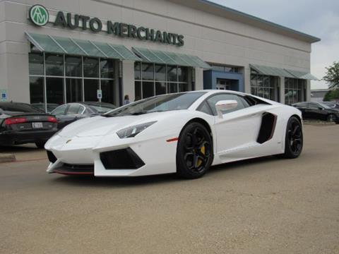 Used Lamborghini Aventador For Sale In Texas Carsforsale Com