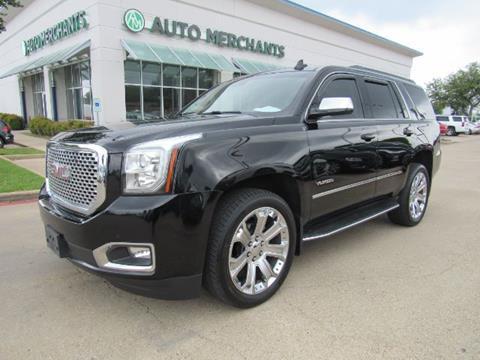 2016 GMC Yukon for sale in Plano, TX