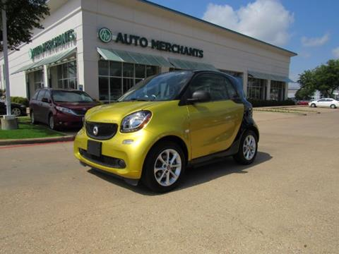 2017 Smart fortwo electric drive for sale in Plano, TX