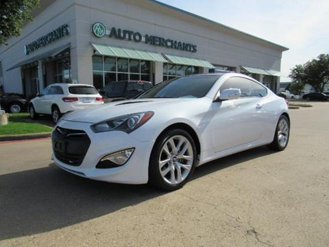 Hyundai Genesis Coupe For Sale >> 2016 Hyundai Genesis Coupe For Sale In Plano Tx