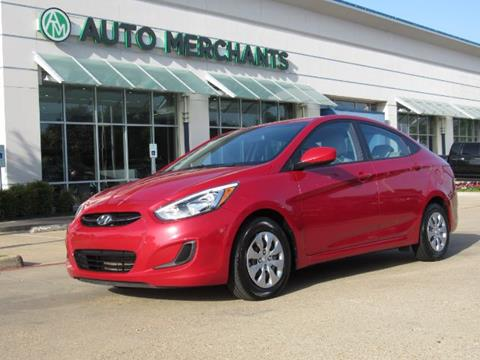 2017 Hyundai Accent for sale in Plano, TX