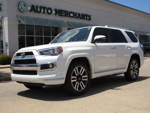 2016 Toyota 4Runner for sale in Plano, TX