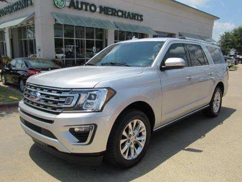 2018 Ford Expedition MAX for sale in Plano, TX