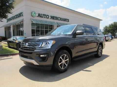 2019 Ford Expedition MAX for sale in Plano, TX